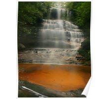 Junction Falls .. golden sands Poster