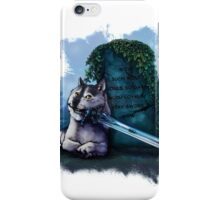 Great Grey Doge Sif iPhone Case/Skin