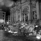 Trevi Fountain by Simon Marsden