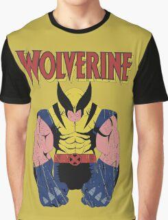 Wolverine X men Graphic T-Shirt