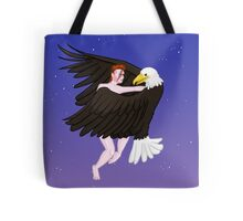 Making Love With His Eagle Tote Bag