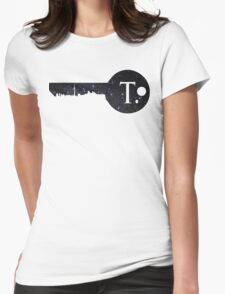 Key To Toronto Womens Fitted T-Shirt