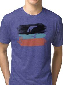 Guns and Peace - T-Shirt Tri-blend T-Shirt