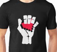 8-Bit Heart Fist Unisex T-Shirt