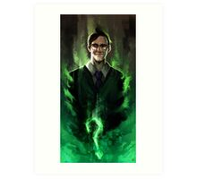 Riddle me this! Art Print