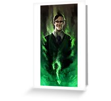 Riddle me this! Greeting Card