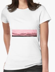 Rouge Hills Of The Tonto Womens Fitted T-Shirt