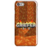 Minecraft Griefer Shirt iPhone Case/Skin