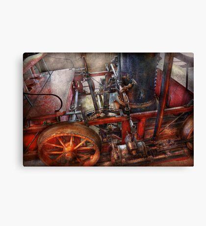 Steampunk - My transportation device Canvas Print
