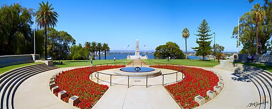 Perth ANZAC Memorial by Adam Gormley