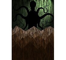Cthulhu's mountains of madness - green Photographic Print