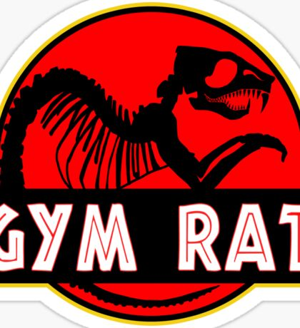 Gym Rat Bodybuilding Fitness Sticker