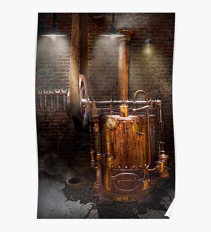 Steampunk - Powering the modern home Poster