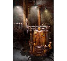 Steampunk - Powering the modern home Photographic Print