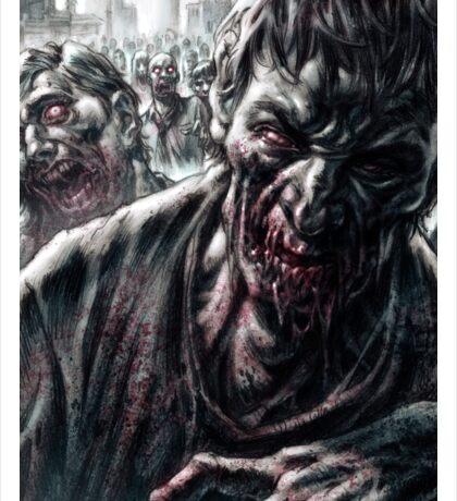 Zombie Horde Sticker