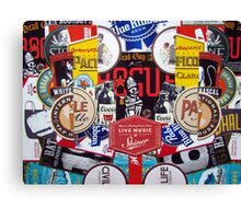 Rogue Shiner Collage Canvas Print