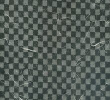 Textured Gray Checks by Steve Campbell