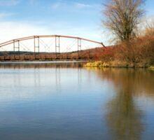 Solitude Bridge Landscape Sticker