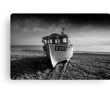 a Branscombe Boat  Canvas Print