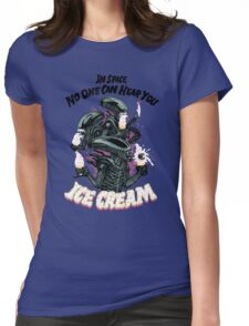 Hear You Ice Cream Womens Fitted T-Shirt