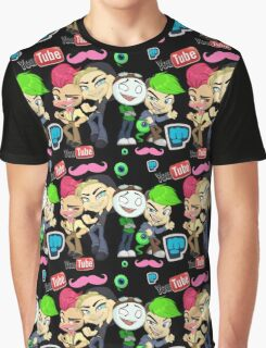 All the Tubers Graphic T-Shirt