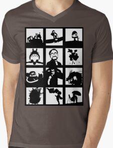 Tribute to Miyazaki Mens V-Neck T-Shirt