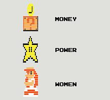 Super Mario Money Power Women Unisex T-Shirt