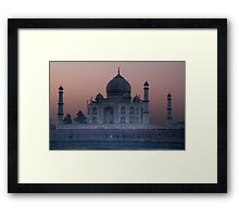 Agra Sunrise Framed Print
