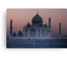 Agra Sunrise Canvas Print