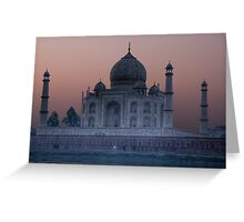 Agra Sunrise Greeting Card
