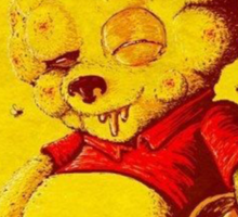 winnie the pooh-it was worth it  Sticker