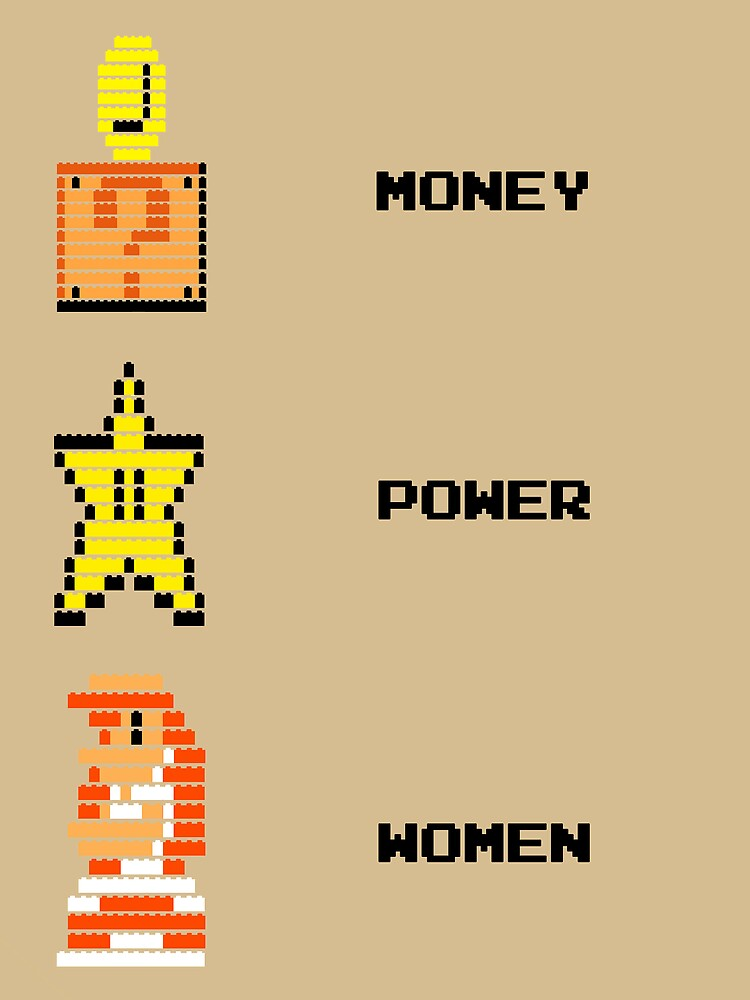 Super Mario Money Power Women by McLovely