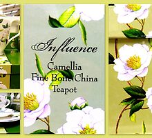 Camelia Tea Set featured in Collective Collage ~ 147 views by ©The Creative  Minds