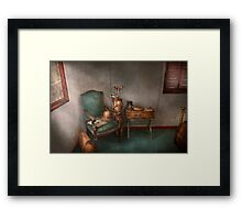 Hobby - Golf - Photography - Persuits of happiness  Framed Print