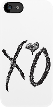 The Weeknd&#x27;s XO (Black) by Faded Fabrics
