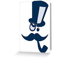 Mustachio Greeting Card