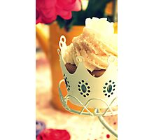 Crown Cupcake Photographic Print