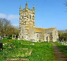 """"""" Englands most southerly Church"""" by Malcolm Chant"""