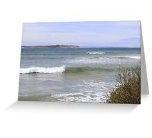 ~Across the Bay~ Point Lonsdale, Vic Greeting Card