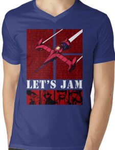 Bebop Ship II Mens V-Neck T-Shirt