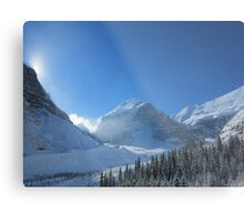 Plain of 6 Glaciers, Lake Louise Metal Print