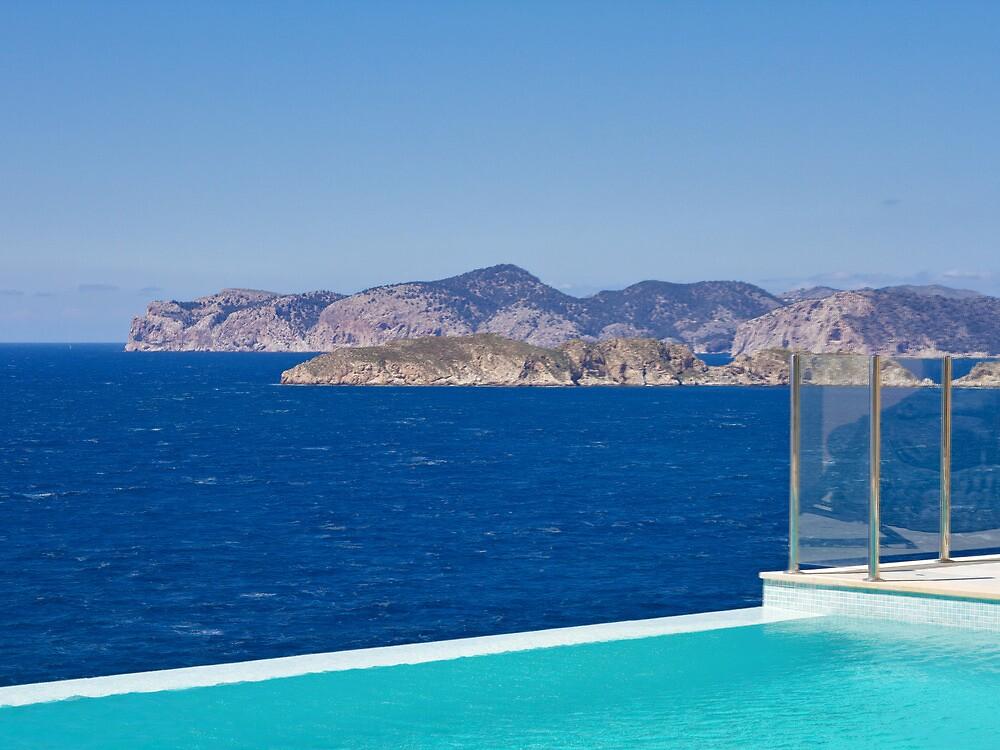 infinity pool overlooking ocean - photo #15
