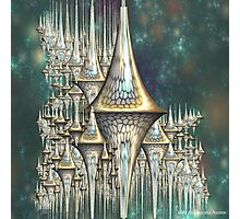 SPIKE SPIRES Photographic Print