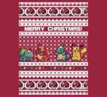 Pokemon Christmas Sweater by Mikayla Williams