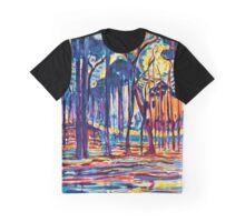 Mondrian Woods Near Oele Graphic T-Shirt