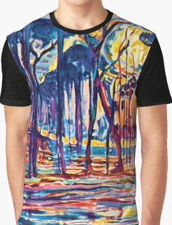 Mondrian Woods Near Oele Graphic T-Shirt