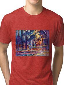 Mondrian Woods Near Oele Tri-blend T-Shirt