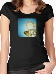 Yellow Fun Women's Fitted Scoop T-Shirt