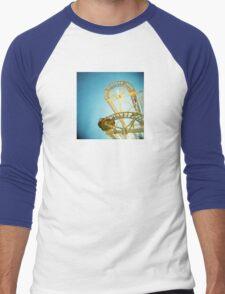 Yellow Fun Men's Baseball ¾ T-Shirt