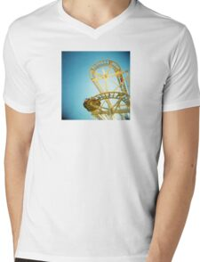 Yellow Fun Mens V-Neck T-Shirt